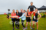 Taking part in the Beachfit Games in Waterville on Saturday members of Achieve Fitness from Tralee pictured l-r; Cindy O'Shea, Dee Spillane, Mairead McMahon, Louise Curtin, Maria Lynch & Mary Whittmer.