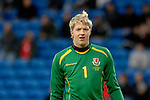 International Friendly match between Wales and Scotland at the new Cardiff City Stadium : Wales goalkeeper Wayne Hennesey.