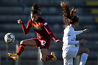 Agnese Bonfantini of AS Roma in action during the Women Italy cup round of 8 second leg match between AS Roma and Florentia S.G. at stadio delle tre fontane, Roma, February 14, 2021. Photo Andrea Staccioli / Insidefoto