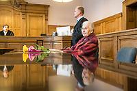 2020/11/17 Berlin | Prozess | Holocaustleugnerin Ursula Haverbeck