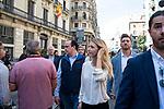 Cayetana Álvarez de Toledo makes statements to the media in front of the top police headquarters in Barcelona<br /> October 19, 2019. <br /> (ALTERPHOTOS/ David Jar)