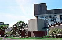 Cambridge:  Science Center, Harvard.  Architects Sert, Jackson & Assoc., 1970-72.  Photo '88.