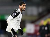 17th February 2021; Turf Moor, Burnley, Lanchashire, England; English Premier League Football, Burnley versus Fulham; Ruben Loftus-Cheek of Fulham anticipates receiving the pass