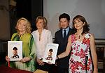 MARTA MARZOTTO CON ANNAROSA RACCA, MATTEO MARZOTTO E MANUELA LUCCHINI<br /> EVENTO DI BENEFICENZA PER LOTTA ALLA FIBROSI CISTICA   2009