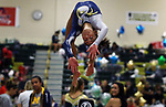 Melissa Astarita from Marlboro High School works the balance beam during the during the Shore Conference Gymnastics 2017 Championships held at Brick Memorial High School in Brick on Saturday October 28, 2017