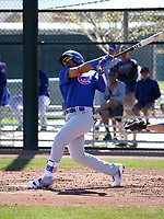 Eddy Julio Martinez - Chicago Cubs 2018 spring training (Bill Mitchell)
