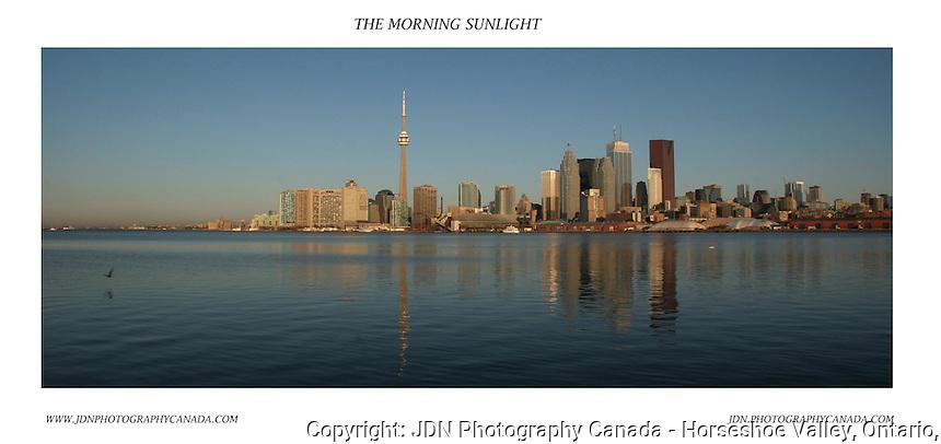 Toronto Skyline in early morning