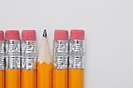 Studio shot of pencils