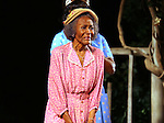 """Cicely Tyson during """"The Trip To Bountiful"""" Final Performance Curtain Call & Celebration at The Stephen Sondheim Theatre on October 9, 2013 in New York City."""
