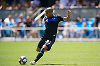SAN JOSE, CA - JUNE 8: Judson #93 during a game between FC Dallas and San Jose Earthquakes at Avaya Stadium on June 8, 2019 in San Jose, California.