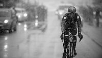 Milan - San Remo 2013: the iced edition<br /> Manuel BELLETTI (ITA)