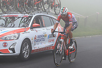 22nd May 2021, Monte Zoncolan, Italy; Giro d'Italia, Tour of Italy, route stage 14, Cittadella to Monte Zoncolan; 33 PONOMAR Andrii UKR