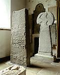 St Saint Illtuds or Sampsons Cross, Saint Illtuds Church, Llantwit Major, Vale of Glamorgan Wales. Uk. Celtic Britain published by Orion