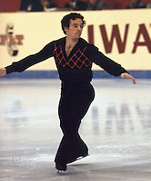 Charles Tickner of the United States competes at the 1978 World Figure Skating Championships in Ottawa, Canada. Photo copyright Scott Grant.