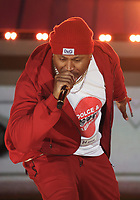 NEW YORK, NY - SEPTEMBER 26, 2021 LL Cool J performs on stage during Global Citizen Live, in Central Park on September 26, 2021 in New York City. Photo Credit: Walik Goshorn/Mediapunch