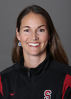 STANFORD, CA - OCTOBER 28:  Heather Olson of the Stanford Cardinal synchronized swimming team poses for a headshot on October 28, 2009 in Stanford, California.