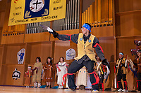 Di'Haii Gwich'in Traditional Dancers perform native dance at the 2009 Festival of Native Arts, Fairbanks, Alaska. The festival is one of interior Alaska's greatest celebrations of Alaska Native culture.