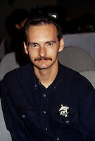 Montreal (Qc) CANADA - August 1993  File Photo -<br /> <br /> David Adkin, director OUT,<br /> <br /> taken at 1993 Montreal's  World Film Festival