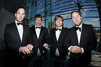 Le groupe quebecois Les Trois Accords<br /> , en 2014<br /> <br /> Photo : Agence Quebec Presse