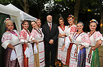 L'ASSESSORE ALLA CULTURA DI ROMA UMBERTO CROPPI - FESTA NAZIONALE FEDERAZIONE RUSSA A VILLA ABAMELEK