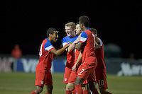 Lakewood Ranch, FL - November 30, 2014: The U.S. U-17 Men's National team defeated Australia 2-1 during the 2014 Nike International Friendlies at Premier Sports Campus.