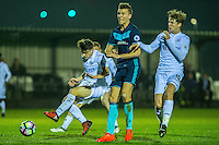 Monday  19 December 2014<br /> Pictured: Daniel James of Swansea City  ( right ) in action <br /> Re: Swansea City U23 v Middlesbrough u23 at the Landore Training Facility, Swansea, Wales, UK