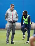 16.01.2020 Rangers training: Steven Gerrard and Jermain Defoe