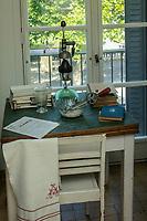 Europe/France/Normandie/76/Seine Maritime/ Le Havre : L'appartement témoin Perret  - La cuisine typiquement années 1950 // Europe / France / Normandy / 76 / Seine Maritime / Le Havre: The Perret show apartment - Typical 1950s cuisine