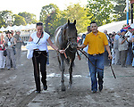 8.7.10 Blame after winning the Whitney with assistant trainer Randi Melton and groom