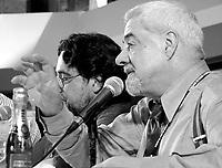 ID :   pr_000831C_87<br /> ConfÈrence de presse   Coronacion  (CO )  Chili<br /> Silvio Caiozzi ;  rÈalisateur (arrriËre plan)<br /> Julio Jung ;  acteur<br /> MENTION OBLIGATOIRE :  © Pierre Roussel, 2000