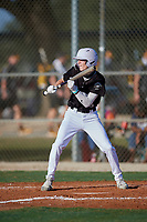 Caid Heflin (6) during the WWBA World Championship at Lee County Player Development Complex on October 8, 2020 in Fort Myers, Florida.  Caid Heflin, a resident of Marietta, Georgia who attends Pope High School, is committed to uncomitted.  (Mike Janes/Four Seam Images)