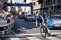 Joao Almeida (POR/Deceuninck - Quick Step) <br /> <br /> 104th Giro d'Italia 2021 (2.UWT)<br /> Stage 21 (final ITT) from Senago to Milan (30.3km)<br /> <br /> ©kramon