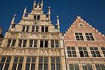 Typical Facades, Ghent, Belgium, Europe