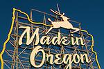 Made in Oregon Sign Portland, Oregon