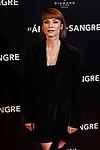 Najwa Nimri attends to 'El Arbol de la Sangre' premiere at Capitol cinema in Madrid, Spain. October 24, 2018. (ALTERPHOTOS/A. Perez Meca)