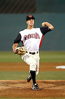Pat McAnaney  ---  At the annual California League-Carolina League all-star game at the Diamond in Lake Elsinore, CA - 06/23/2009. The game was won by the California League, 2-1, on a walk-off homerun by Lancaster's Jon Gaston..Photo by:  Bill Mitchell/Four Seam Images