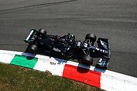 5th September 2020; Autodromo Nazionale Monza, Monza, Italy ; Formula 1 Grand Prix of Italy, Qualifying;  44 Lewis Hamilton GBR, Mercedes-AMG Petronas Formula One Team takes pole