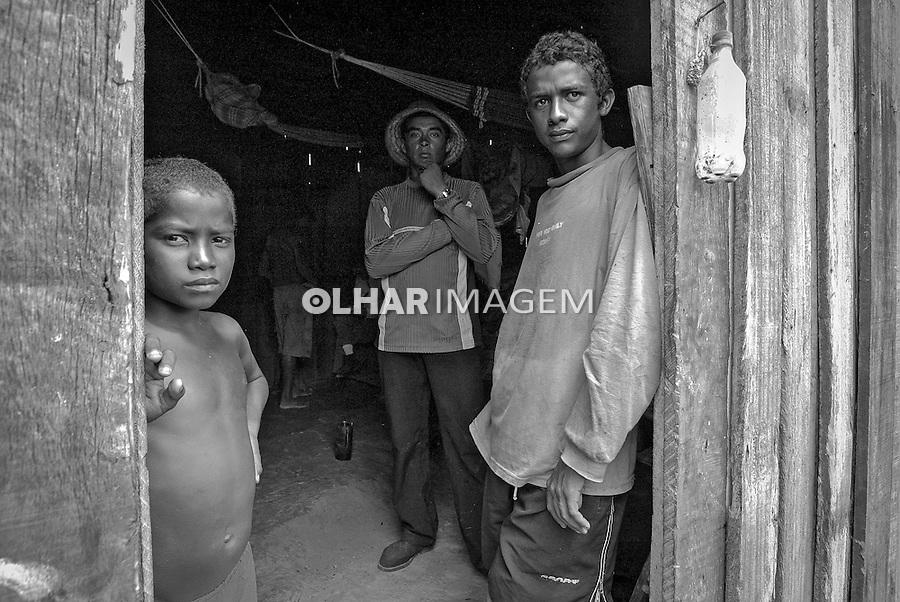 Trabalho escravo nas fazendas Serra Morena e Serra Negra em Carutapera. Maranhao. 2005. Foto de Ubirajara Machado..