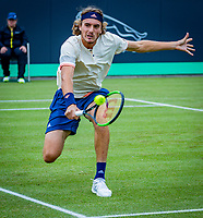 Den Bosch, Netherlands, 14 June, 2018, Tennis, Libema Open, Stefanos Tsitsipas (GRE)<br /> Photo: Henk Koster/tennisimages.com