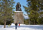 FB-S151  Pioneer Monument.  4x6 postcard