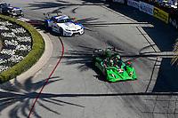 #2 HPD ARX-03b of Ed Brown and Johannes van Overbeek, Long Beach Grand Prix, Long Beach, CA, April 2014.  (Photo by Brian Cleary/ www.bcpix.com )  Long Beach Grand Prix, Long Beach, CA, April 2014.  (Photo by Brian Cleary/ www.bcpix.com )