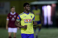 Charne Lemba of Haringey Borough during Haringey Borough vs Potters Bar Town, Pitching In Isthmian League Premier Division Football at Coles Park Stadium on 28th September 2021