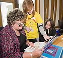 09/06/2010   Copyright  Pic : James Stewart.012_msp_presentation  .::  HELIX PROJECT ::  KIDS FROM THE GREEN TEAM GIVE THEIR PRESENTATION IN ONE OF THE COMMITTEE ROOMS AT SCOTTISH PARLIAMENT   ::.