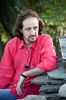 Monticello Brianza, Lecco, Italy. Patrick Fogli, Italian noir writer.