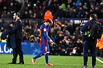 FC Barcelona's Leo Messi  during spanish La Liga match between Futbol Club Barcelona and Real Madrid  at Camp Nou Stadium in Barcelona , Spain. December 03, 2016. (ALTERPHOTOS/Rodrigo Jimenez)