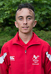 John P Wilson<br /> <br /> Team Wales team photo prior to leaving for the Bahamas 2017 Youth commonwealth games - Sport Wales National centre - Sophia Gardens  - Saturday 15th July 2017 - Wales <br /> <br /> ©www.Sportingwales.com - Please Credit: Ian Cook - Sportingwales