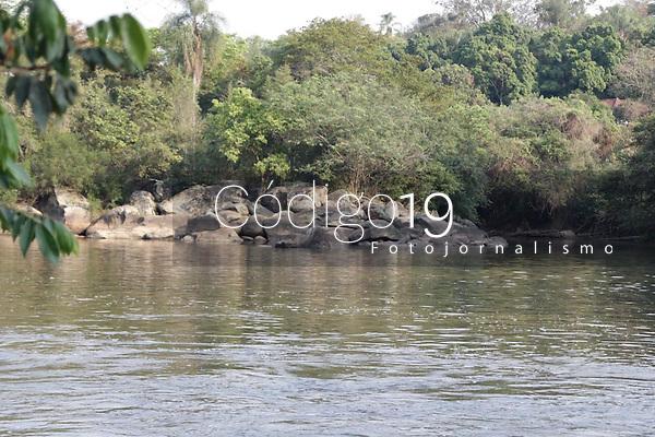 Campinas (SP), 01/10/2020 -  Rios - Vista do Rio Atibaia, no bairro Carlos Gomes na cidade de Campinas, interior de São Paulo.