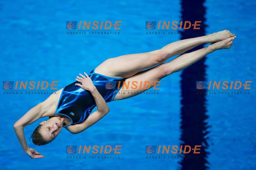 NEDOBIGA Anastasiia UKR<br /> Diving - Women's 3m Springboard final<br /> Day 09 01/08/2015<br /> XVI FINA World Championships Aquatics Swimming<br /> Kazan Tatarstan RUS July 24 - Aug. 9 2015 <br /> Photo Giorgio Perottino/Deepbluemedia/Insidefoto