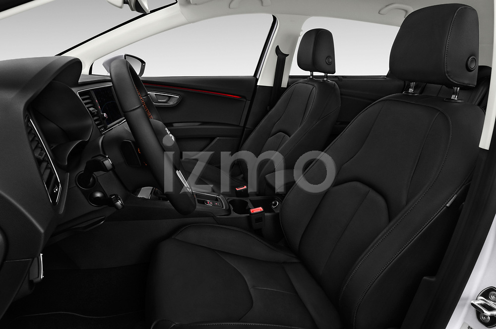 Front seat view of a 2017 Seat Leon ST Xperience Base 5 Door Wagon front seat car photos