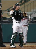 University of South Florida Bulls catcher Chris Norton #31 during a game against the Illinois State Redbirds at the USF Baseball Complex on March 14, 2012 in Tampa, Florida.  South Florida defeated Illinois State 10-5.  (Mike Janes/Four Seam Images)